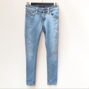 Nudie Jeans 25 / 7 Skinny Leg Light Blue